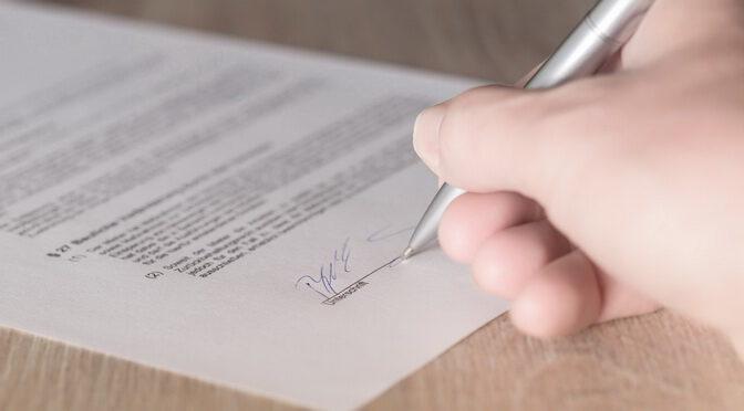 Übergabe der Petition