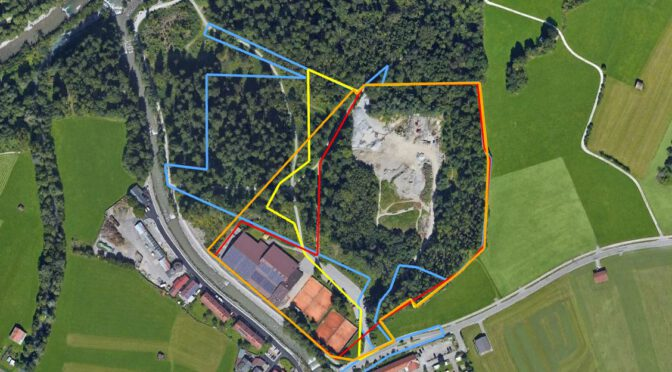 Karweidach – Erste Grobplanung